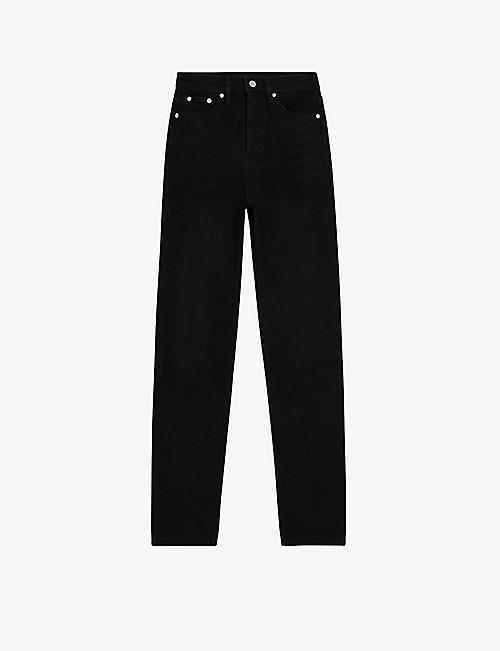 THE KOOPLES: Straight-leg high-rise jeans