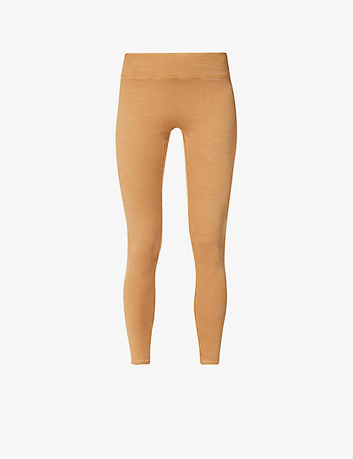 REEBOK X VICTORIA BECKHAM: Travel high-rise stretch-knit leggings
