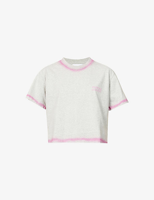 THE KOOPLES SPORT: Logo-print cotton-jersey T-shirt