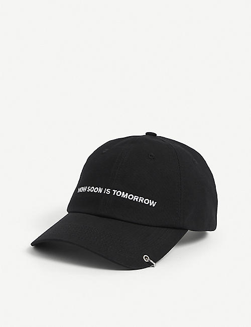THE KOOPLES: Logo-embroidered cotton baseball cap