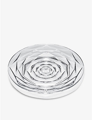 BACCARAT: Swing crystal plate 13cm