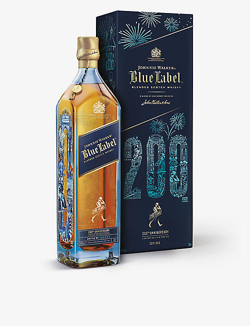 JOHNNIE WALKER: Blue Label 200th Anniversary Limited Edition Scotch Whisky 700ml