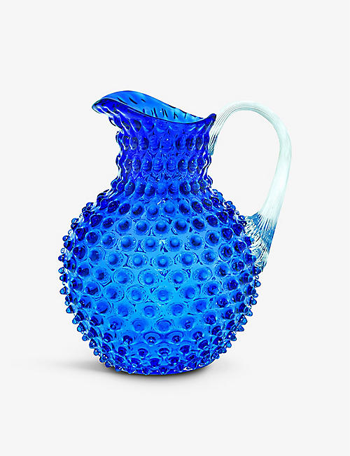THE WEDDING SHOP: Bobble glass jug 2L