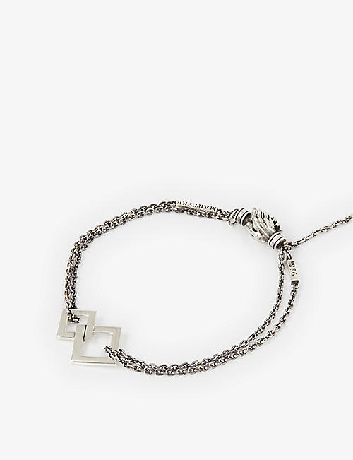 MARTYRE: Eternal sterling-silver chain bracelet