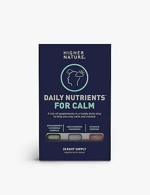 HIGHER NATURE: For Calm supplements 100g