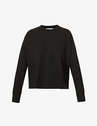 STUDIO NICHOLSON: Mercerized relaxed-fit cotton-jersey top