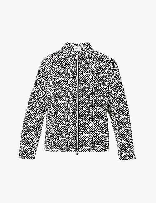 MKI MIYUKI-ZOKU: Tapestry relaxed-fit cotton-blend jacket