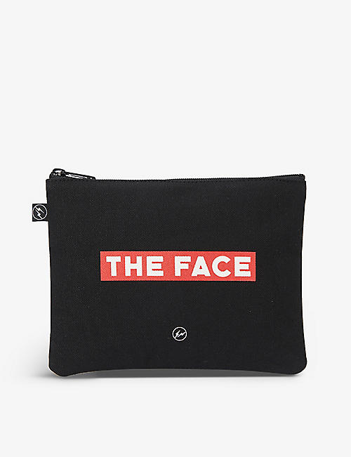 THE FACE X FRAGMENT DESIGN: The Face x Fragment 品牌棉布袋