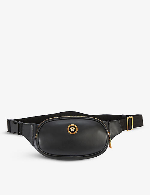 VERSACE: Medusa Head leather belt bag