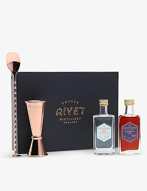 GIN: Dockyard Gin Bar Set 2x 50ml