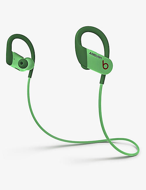 BEATS BY DRE: AMBUSH Special Edition Powerbeats glow-in-the-dark wireless and Bluetooth headphones