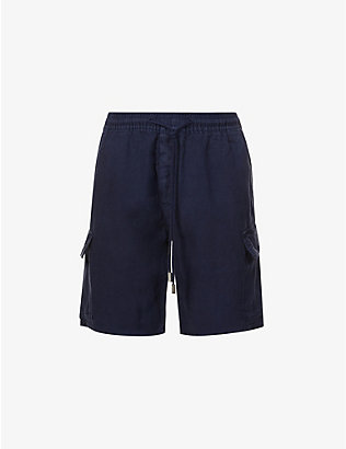 VILEBREQUIN: Relaxed-fit linen cargo shorts