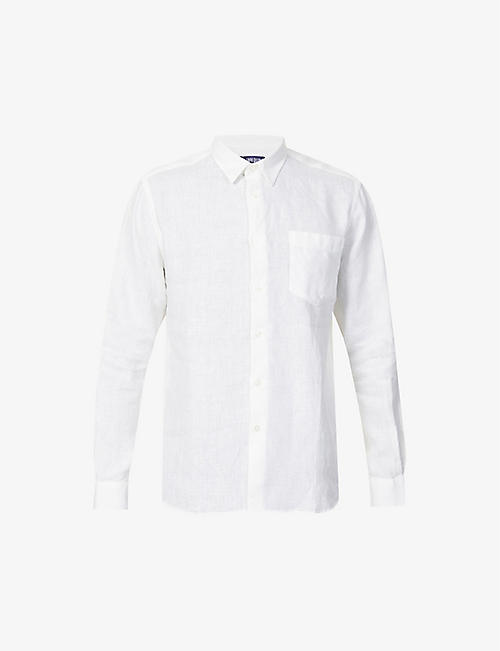 VILEBREQUIN: Regular-fit linen shirt