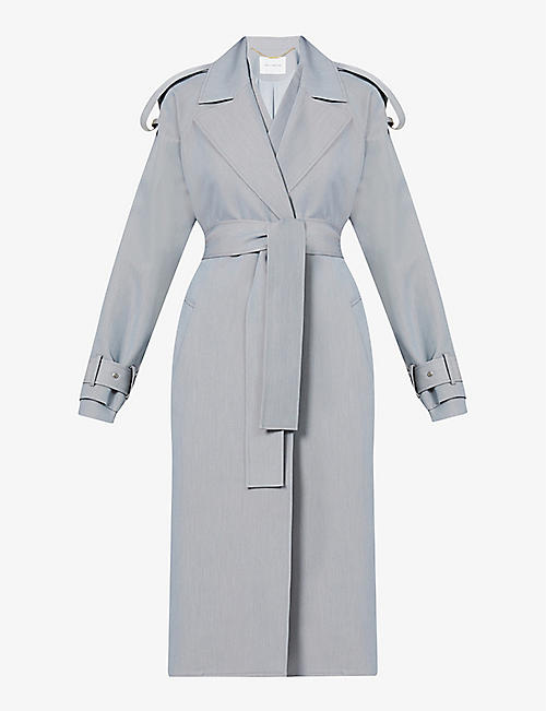 CAMILLA AND MARC: Floyd woven trench coat