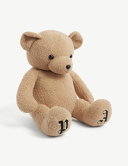 PALM ANGELS: Logo-embroidered teddy bear
