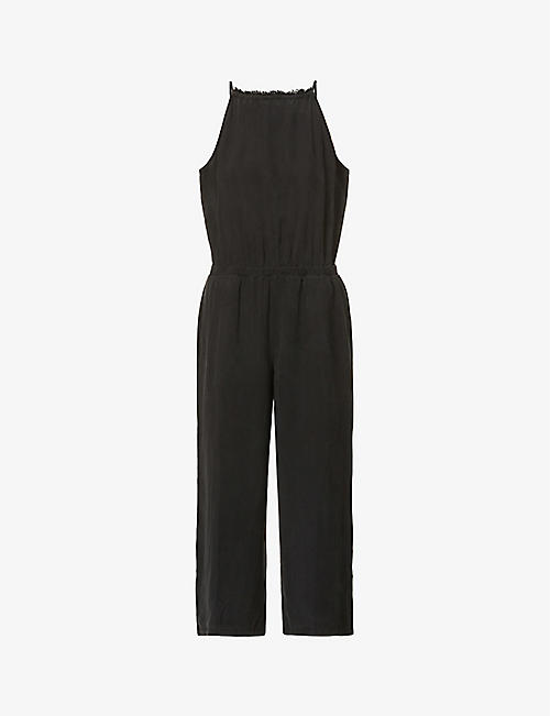 BELLA DAHL: Sleeveless crepe jumpsuit