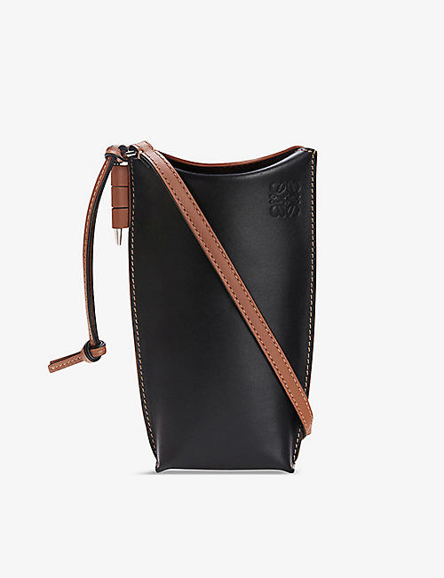 LOEWE: Gate Pocket leather shoulder bag