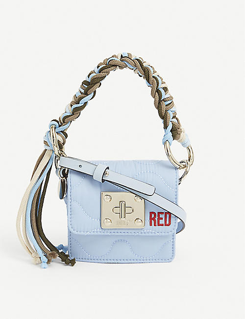 RED VALENTINO: Scooby mini nylon shoulder bag