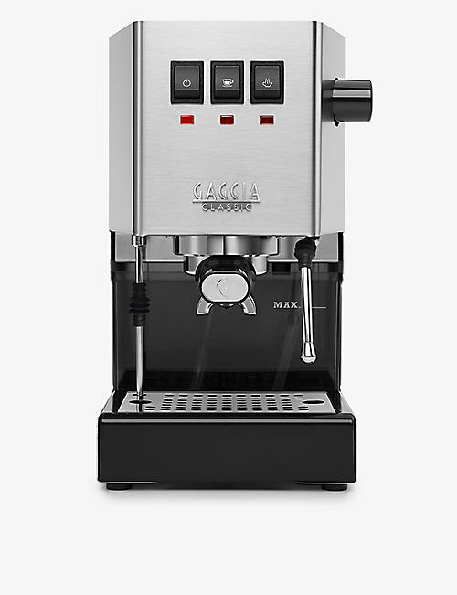 GAGGIA: Classic stainless-steel coffee machine