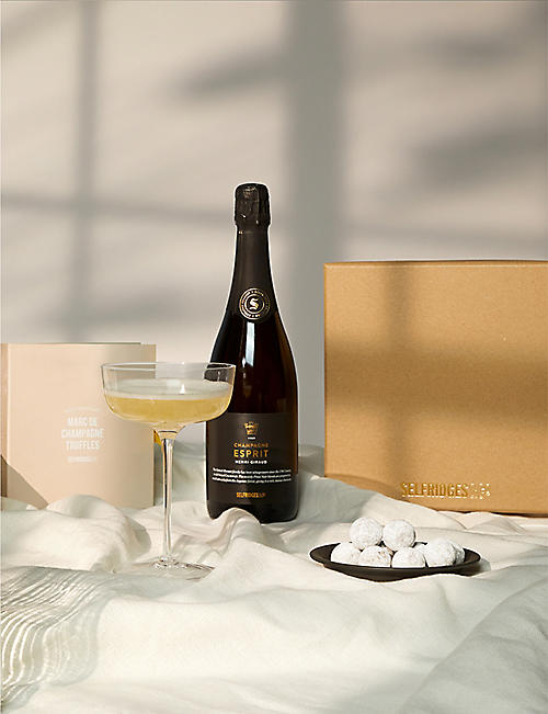SELFRIDGES SELECTION: Champagne and Chocolates giftbox