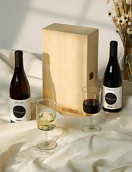 SELFRIDGES SELECTION: Red and White Wine Giftbox