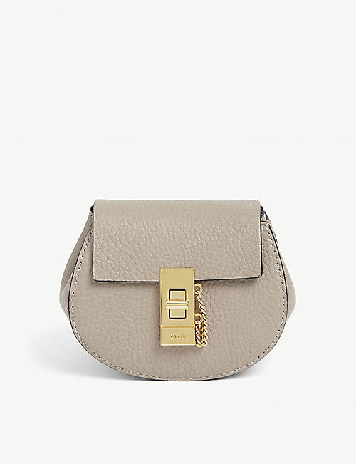CHLOE: Drew Mini leather backpack
