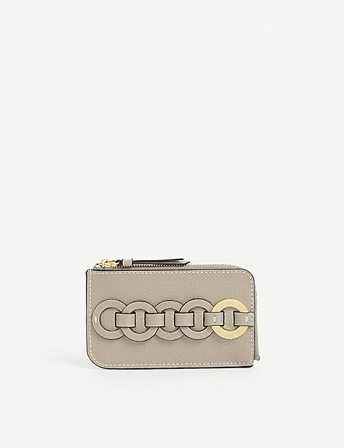 CHLOE: Darryl small leather wallet