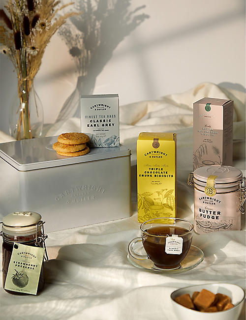 CARTWRIGHT & BUTLER: Cartwright & Butler Tea and Biscuits Hamper