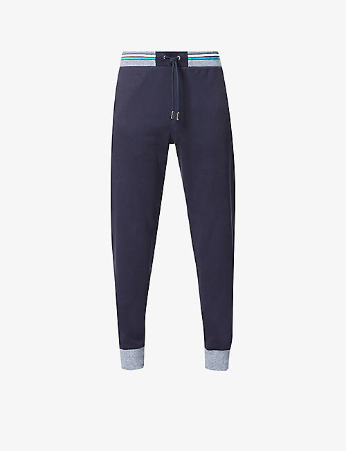 ORLEBAR BROWN: Hagley mid-rise stretch-cotton jogging bottoms