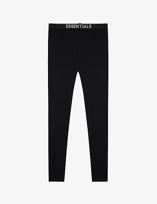 FOG X ESSENTIALS: ESSENTIALS branded-waistband cotton-blend jogging bottoms