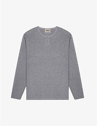 FOG X ESSENTIALS: ESSENTIALS crewneck cotton-knit sweatshirt