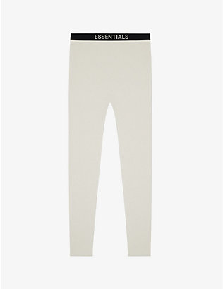 FOG X ESSENTIALS: ESSENTIALS Thermal cotton waffle-knit trousers