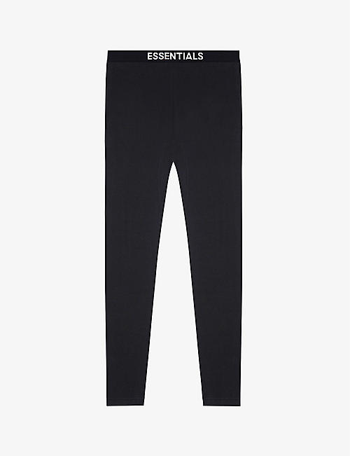 FOG X ESSENTIALS: ESSENTIALS branded-waistband cotton-knit jogging bottoms