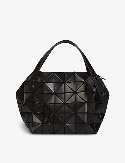 BAO BAO ISSEY MIYAKE: Boston PVC shoulder bag