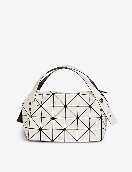 BAO BAO ISSEY MIYAKE: Boston mini PVC shoulder bag