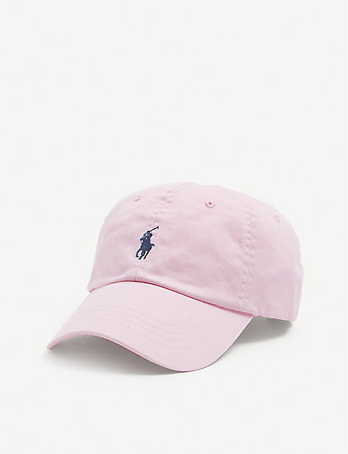 POLO RALPH LAUREN: Logo-embroidered cotton cap