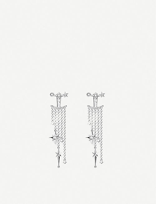THOMAS SABO: Magic Stars sterling silver chandelier earrings