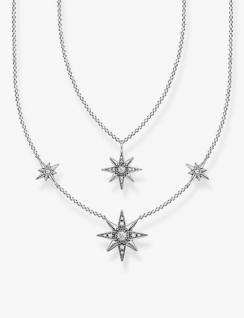 THOMAS SABO: Magic Stars sterling-silver and white zirconia necklace