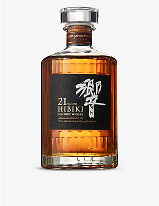 SUNTORY: Hibiki 21-year-old blended whisky 700ml