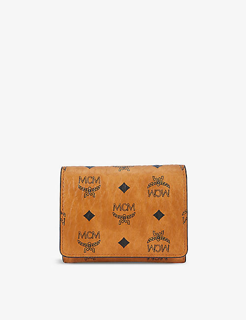 MCM: Visetos faux-leather wallet