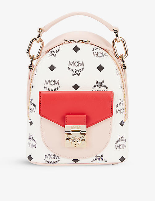 MCM: Patricia leather mini backpack