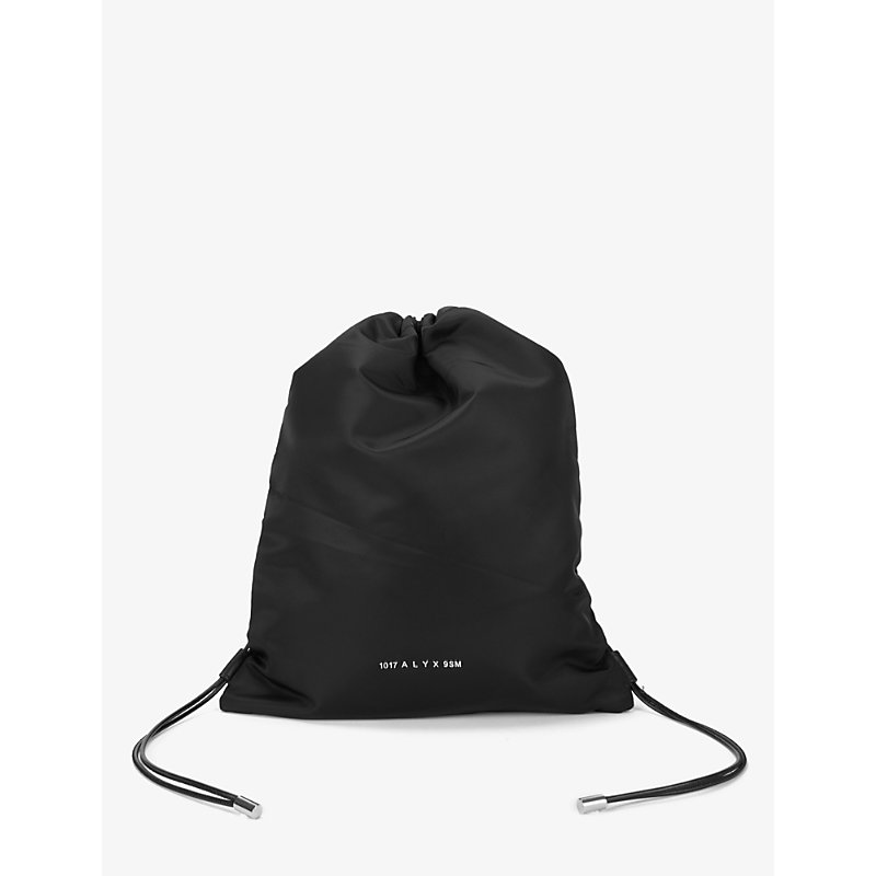 Alyx Leathers BRANDED SHELL DRAWSTRING BAG