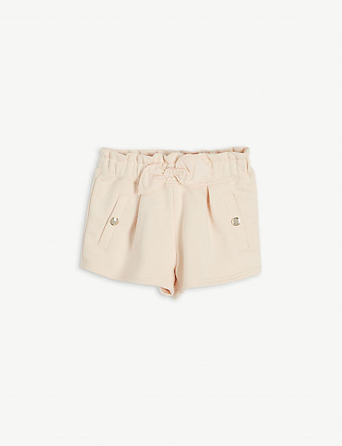 CHLOE: Mid-rise cotton-blend shorts 6 months-3 years