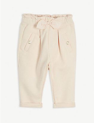 CHLOE: Mid-rise cotton-blend trousers 6 months-3 years