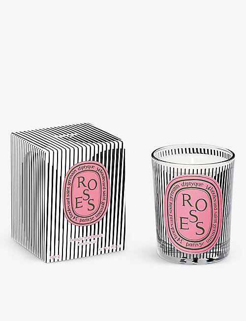 DIPTYQUE: Graphic Collection Limited Edition Roses scented candle 190g