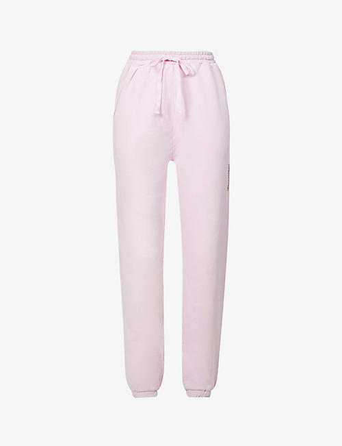 CAMILLA AND MARC: Marvin relaxed-fit high-rise cotton-jersey jogging bottoms