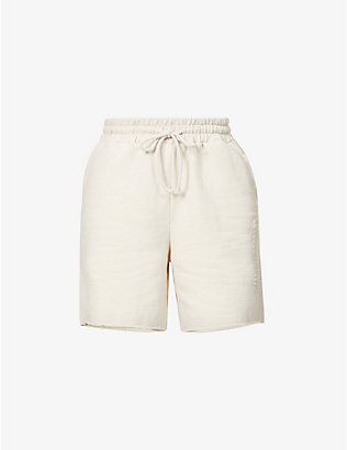 CAMILLA AND MARC: Josef relaxed high-rise cotton-jersey shorts