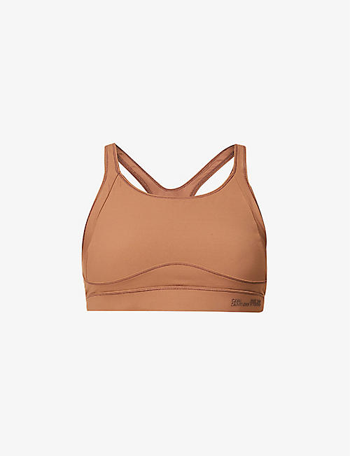 CAMILLA AND MARC: La Marr Active padded stretch-jersey crop top