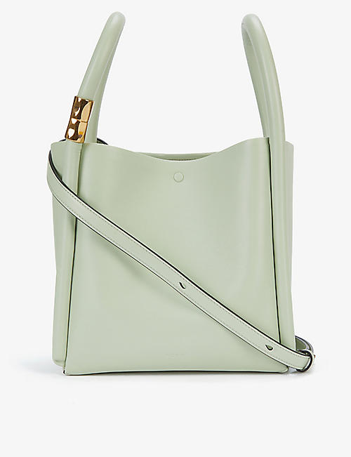 BOYY: Lotus 20 leather cross-body bag