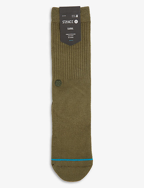 STANCE: Icon cotton-stretch crew socks